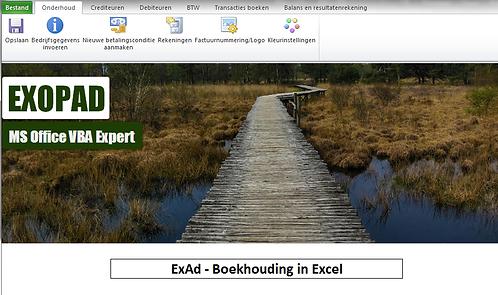 ExAd - Boekhouding in Excel