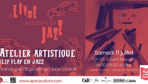 Inscriptions pour les ateliers Flip Flap en jazz