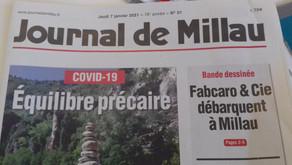 [Revue de presse] Journal de Millau du 07/01/21