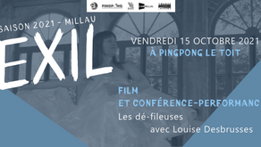 [EXIL #3] Lecture-rencontre avec Louise Desbrusses