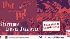 Sélection livres & jazz de la bibliothèque