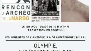 Projection du film Olympie