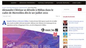 [Revue de presse] Blog Ligne claire sur Alexandre Clérisse