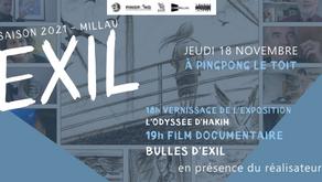 Exil et le documentaire Bulles d'exil