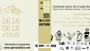 3 expositions BD à Millau