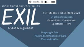 [EXIL] Saison culturelle Automne 2021 à Millau