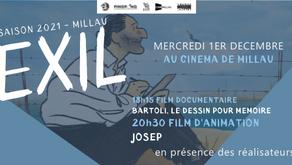 Exil, Josep et Bartoli au cinéma