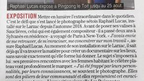 [Revue de presse] Le Journal de Millau sur Raphaël Lucas