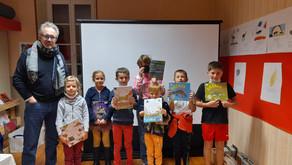 [Souvenir] JB de Panafieu avec les enfants de Saint-Beauzély