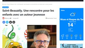 [Revue de presse] Millavois.com sur JB de Panafieu à Saint-Beauzély