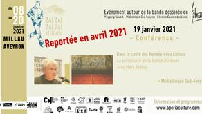 [Reportée] Conférence de Marc Azéma en avril 2021