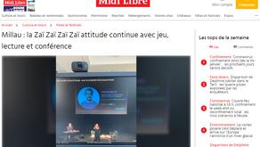 [Revue de presse] Midi Libre 14/01/2021