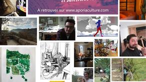 Retrouvez 20 portraits d'artistes confinés, à fleur de peau