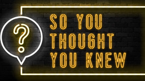 So You Thought You Knew PDF