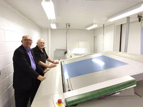 """""""We are seeing a significant reduction in make-ready times on our presses and we are delighted.""""- Cyril Luff Metal Decorators"""