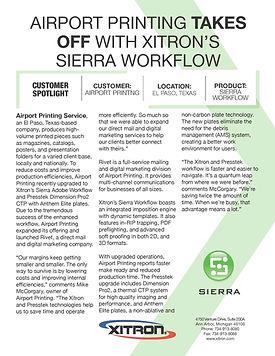 Airport Printing Sierra Adobe Prepress W