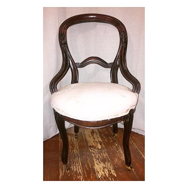 antique chair | $125