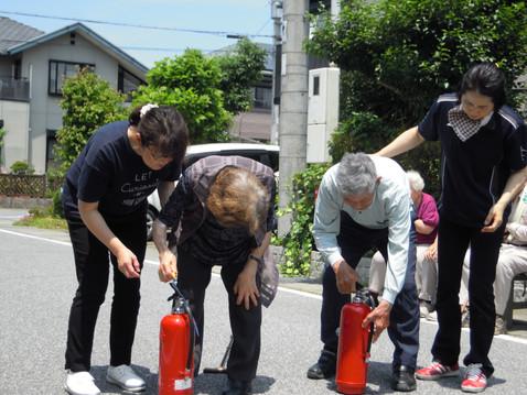 消防訓練🚒