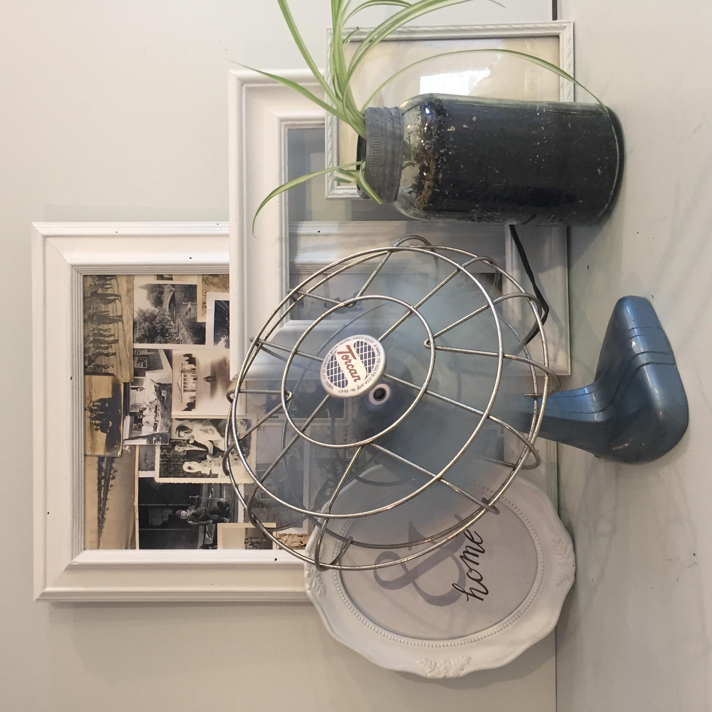 vintage fan | $65