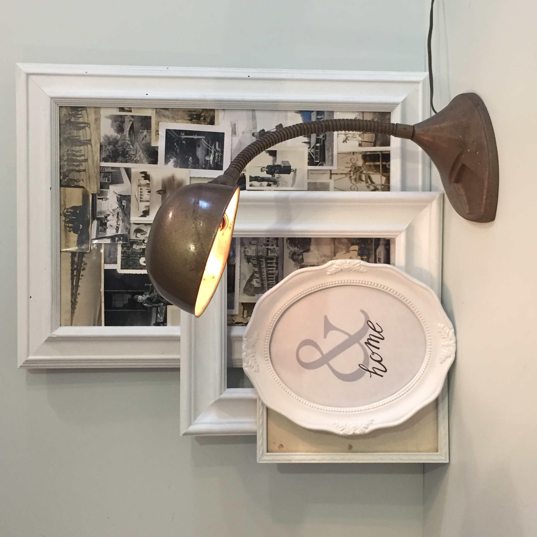 gooseneck lamp | $65