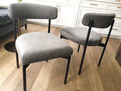 Modern Elte dining chairs