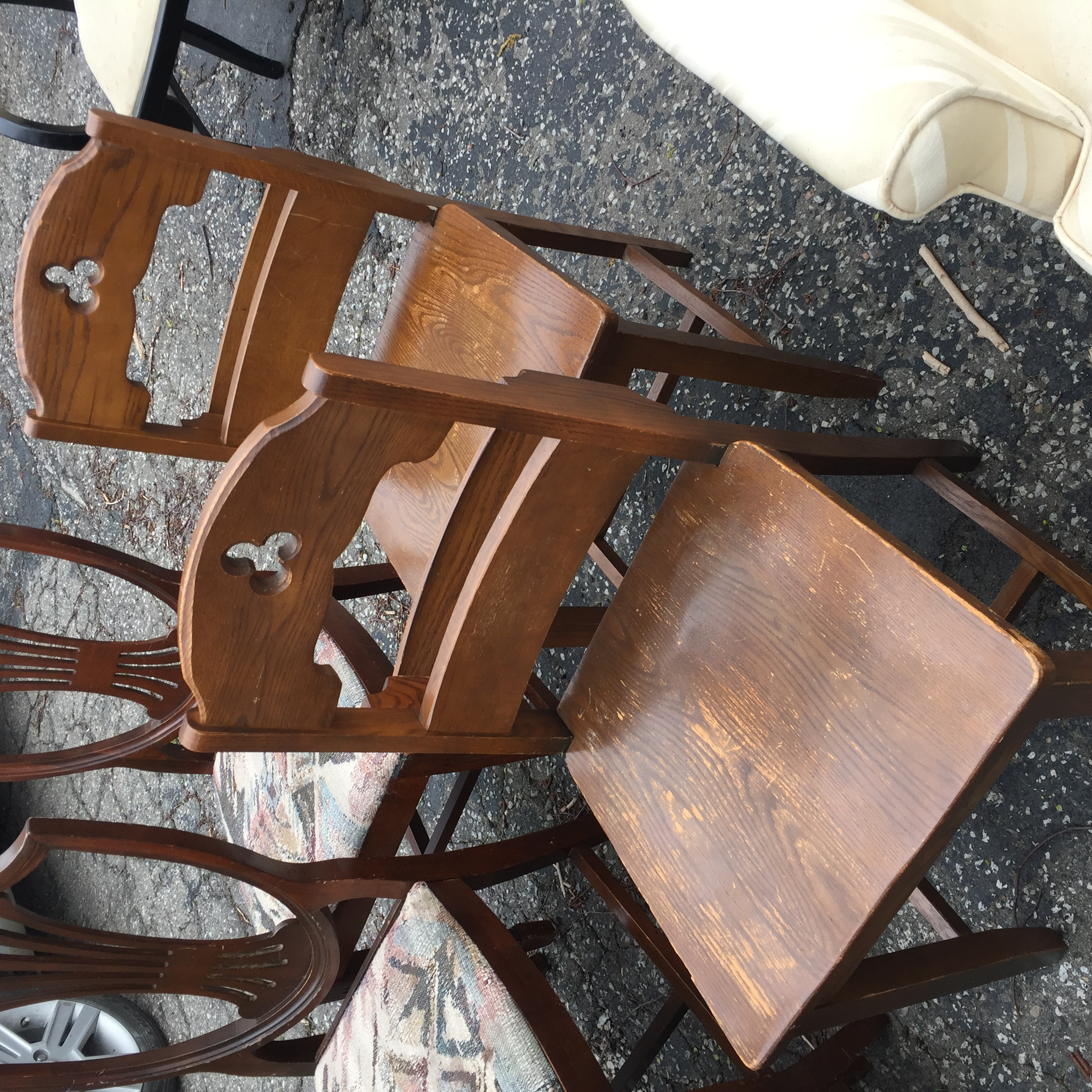 church seats | $45 each