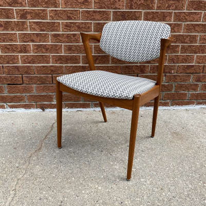 MCM  wooden arm chair