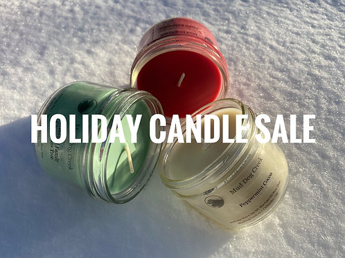Holiday Candle Sale