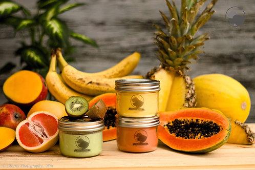 Fruit Scent Market Jar Candles