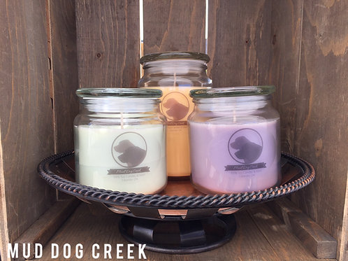 16 oz Apothecary Jar Candle