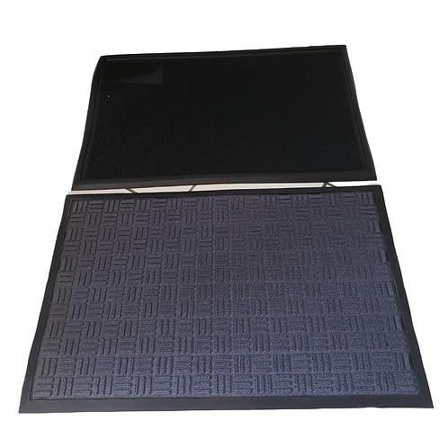 Juego de Tapete Sanitizante 40x60 + Tapete de Secado de 60x90 cms