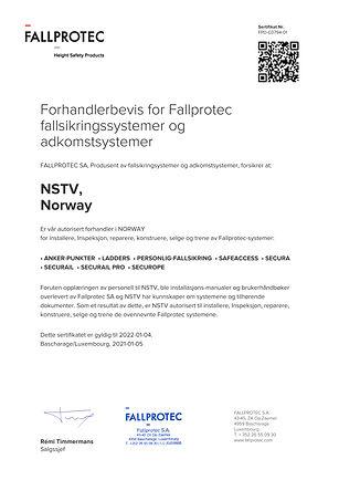Certificate - FPD-C0794-01 - 2021-01-05.