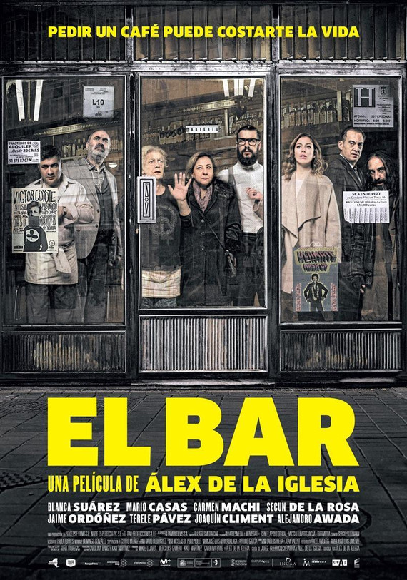 Película El bar/ Product Placement / Alternativa de medios