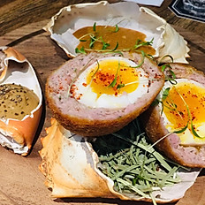 Crab Scotch Eggs