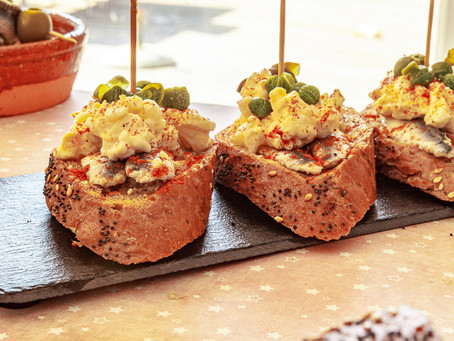 Pintxo Anchovy, Eggs & Capers