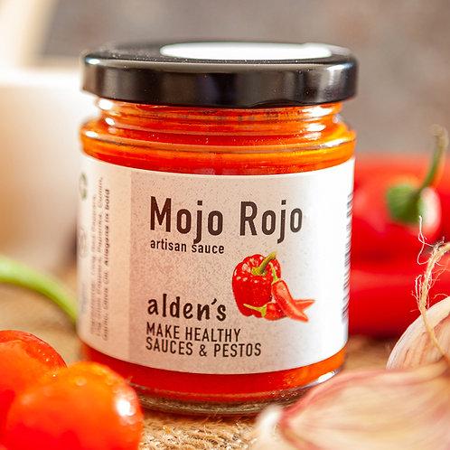 alden's Mojo Rojo sauce
