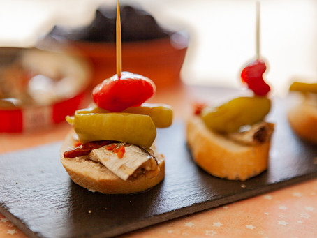 The ultimate Pintxo of Spicy Sardines