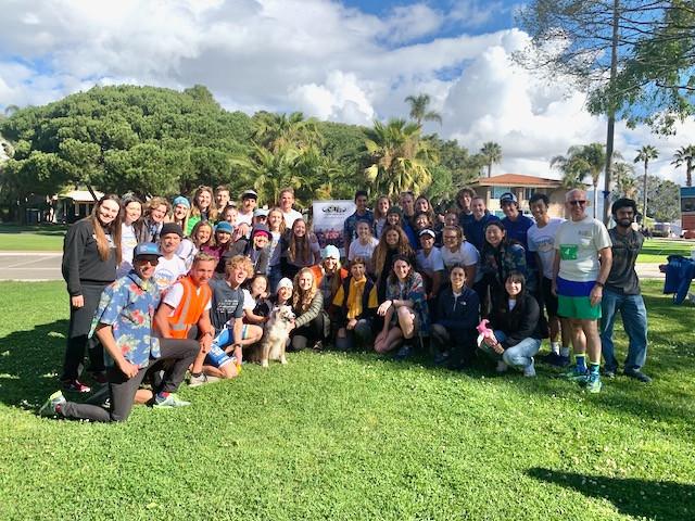 2020 UCSB Triathlon team
