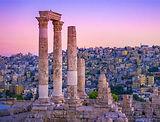Citadel Ruins Amman Jordan