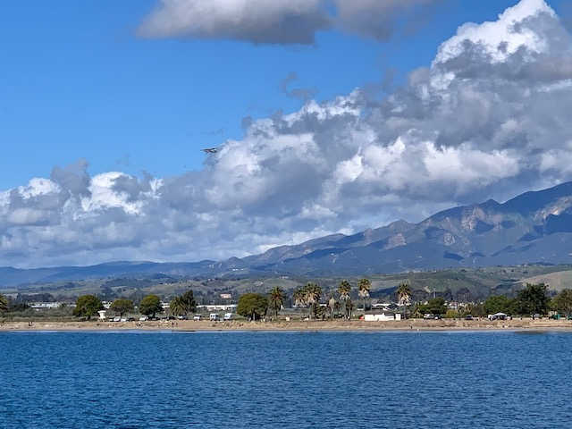 view of UCSB campus