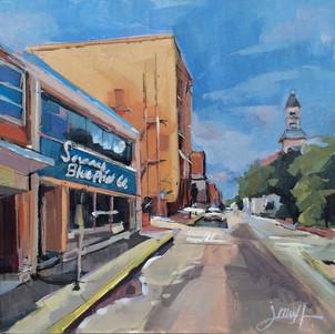 Savannah Blue Print