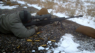 M107 Sniper configuration with Thermal Optic