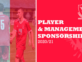 Player & Management Sponsorship 2020/21
