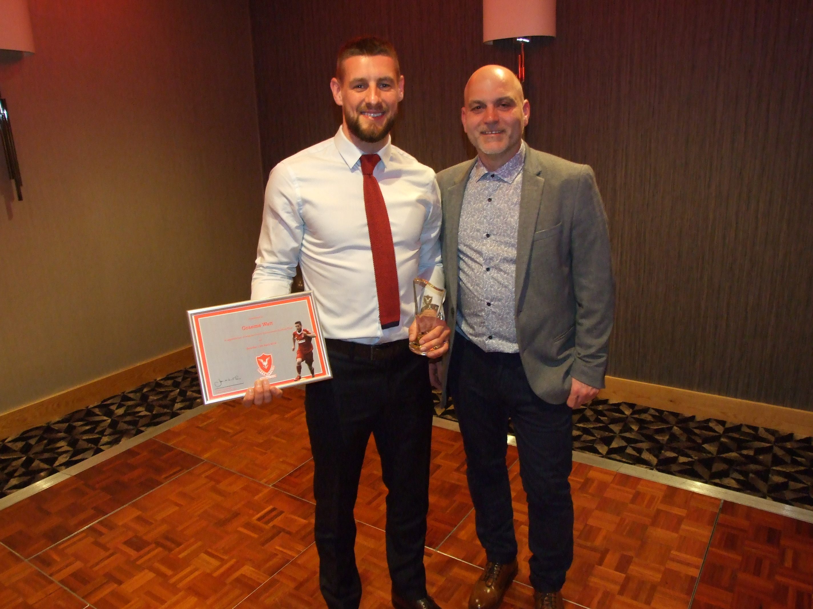 Graeme Watt - Special Recognition Award