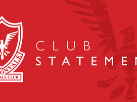 Club Statement | Season Ended