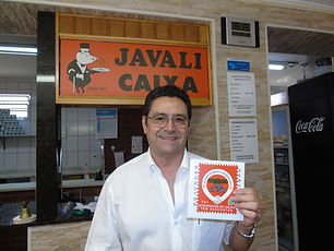 Garcia e o adesivo (Javali).JPG