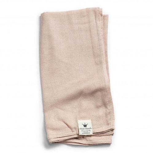 Bamboe hydrofiele doek dusty roze