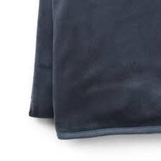 Velvet deken juniper blue