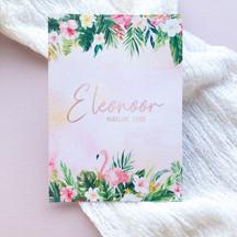 ID | Eleanoor geboortekaartje