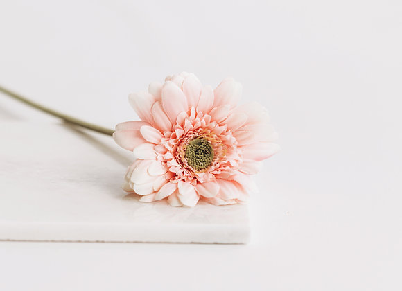 Kunststof - Gerbera roze